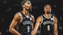 Spencer Dinwiddie's hilarious response to Twitter graphic thanking him for time with Nets