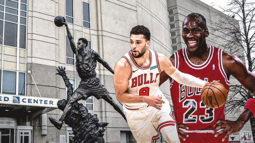 Zach LaVine joins Michael Jordan with impressive record after hot game vs. Thunder