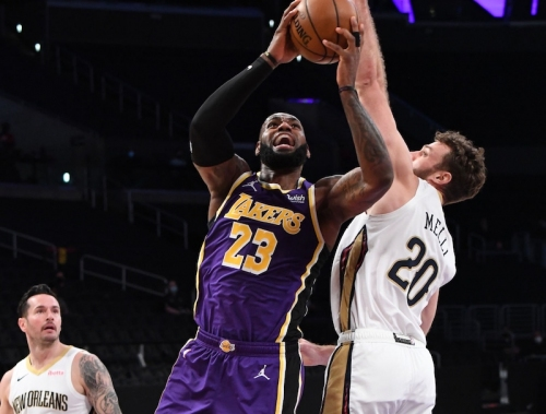 Recap: Lakers Fly Past Pelicans After Slow Start