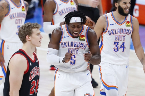 Thunder rally for 127-125 overtime win over Bulls