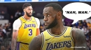 LeBron James doesn't think Anthony Davis is LA's third best shooter