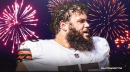 Browns' Joel Bitonio shares firsthand account of fans' bonkers celebration after Wild Card win