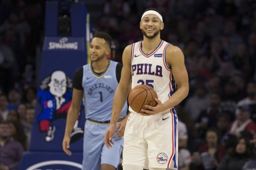 Sixers face Grizzlies tonight without Embiid