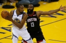 FILM STUDY: Keys to making the James Harden, Kyrie Irving, and Kevin Durant trio work