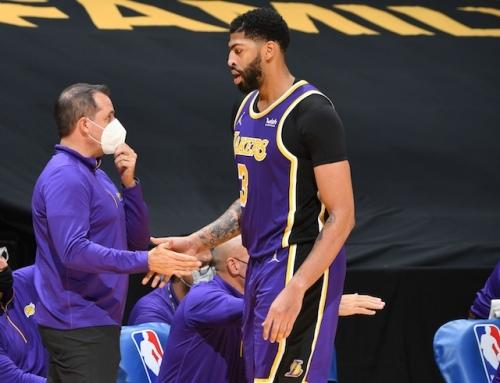 Lakers News: Frank Vogel Not Concerned By Anthony Davis' 'Nagging Injuries'