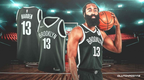 The James Harden Nets jersey drops, where to buy