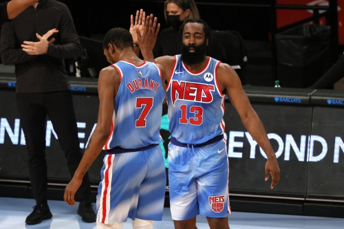 James Harden records triple-double in Nets debut as Brooklyn defeats Orlando, 122-115