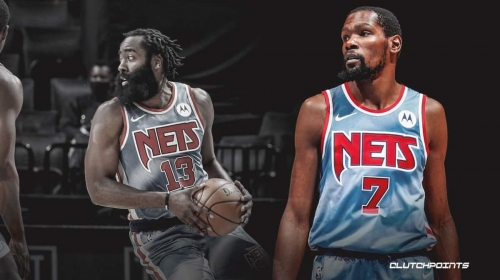 Kevin Durant breaks Nets record on James Harden's debut