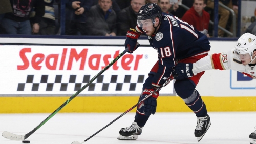 Blue Jackets in no rush to trade Pierre-Luc Dubois