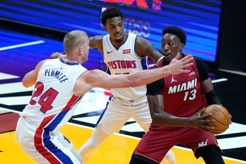 Detroit Pistons vs. Miami Heat: Best photos from Florida