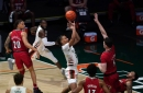 Isaiah Wong's Career Night Leads Miami to Upset Win Over No.16 Louisville
