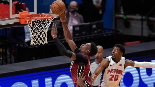 Heat play like imperfect strangers, fall 120-100 to Pistons