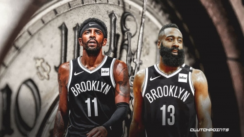 James Harden warns of 'scary hours' when Kyrie Irving returns