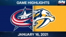 Predators ride four-goal third period to win over Blue Jackets