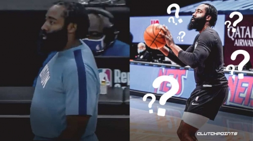 James Harden stuns NBA Twitter with drastic body transformation for Nets debut