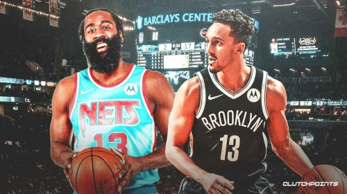 Nets star James Harden cryptic on what he gave Landry Shamet for No. 13 jersey