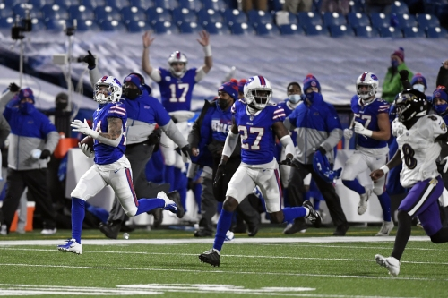 Ravens lose Lamar Jackson in 17-3 loss to Bills, their second straight divisional-round exit