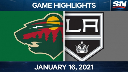 Wild tie it late & score in OT to stun Kings
