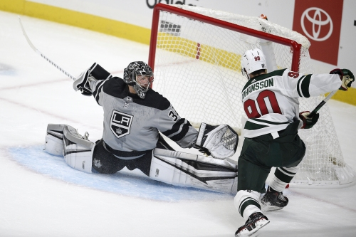 Kings blow another big lead, lose in OT to Minnesota