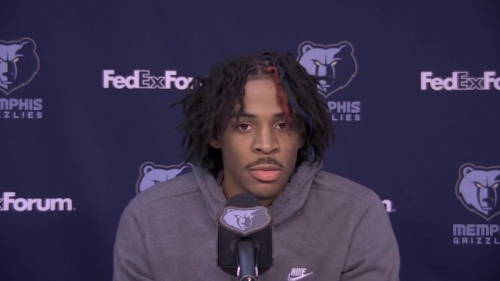 Ja Morant on his return to Grizzlies from a sprained ankle