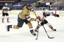John Gibson, Ducks lose goaltenders' duel to Marc-Andre Fleury, Golden Knights
