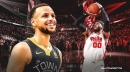 Warriors star Stephen Curry stans Carmelo Anthony's vintage play for Blazers