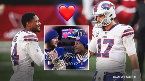 Stefon Diggs' heartfelt speech for Josh Allen is everything to Bills Mafia