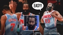 James Harden on Nets debut with Kevin Durant: 'It's pretty easy'