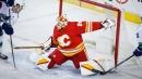 Markstrom, Tanev shut down former Canucks teammates in Flames home debut