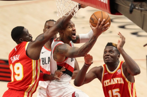 Recap: Lillard Lifts Blazers Over Hawks 112-106