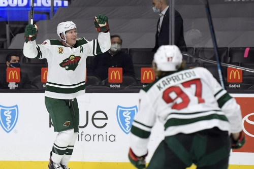 Wild 4, Kings 3 OT: Last-second goal leads to another OT win over the Kings