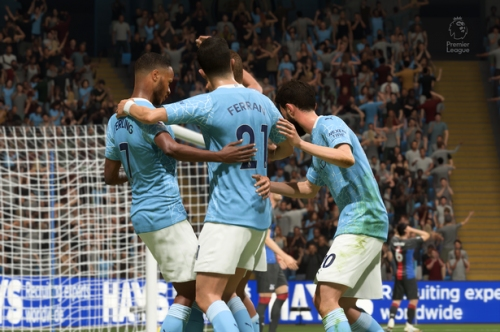 We simulated Man City vs Crystal Palace to get a score prediction