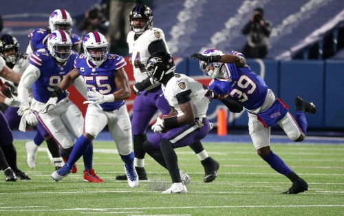 Bills defense should patent its defensive game plan against Lamar Jackson