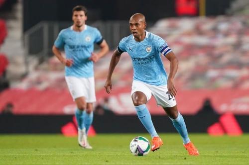 Man City team vs Crystal Palace includes Walker and Fernandinho