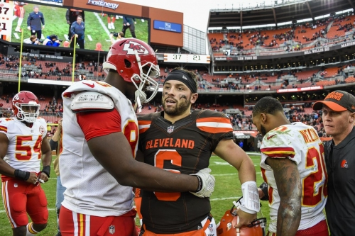 NFL Divisional Playoffs: Browns vs. Chiefs
