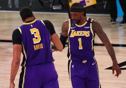Anthony Davis, Kentavious Caldwell-Pope Among NBA 2K21 Ratings Update