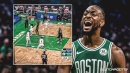 Video: Celtics star Kemba Walker shows off burst on his first basket of 2020-21 season
