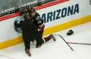 Coyotes coach Rick Tocchet, on Evander Kane hit that injured defenseman Oliver Ekman-Larsson