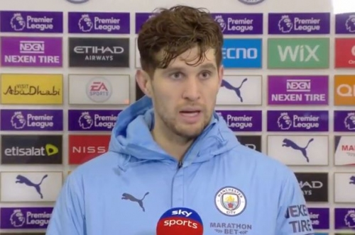 John Stones admits he 'looked at himself in the mirror' to spark transformation