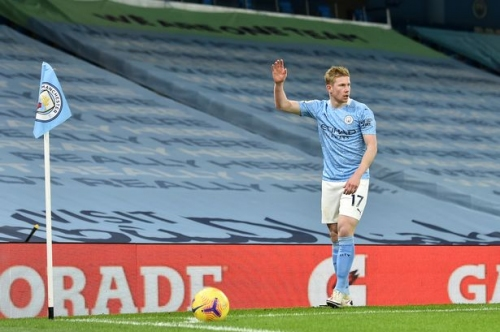Man City star Kevin De Bruyne leaves Pep Guardiola lost for words