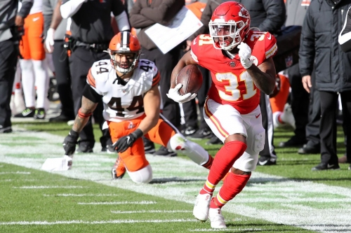 Six winners and three losers in the Chiefs' win against the Browns