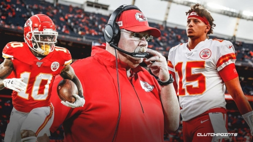 Chiefs coach Andy Reid speaks out on Patrick Mahomes' health ahead of AFC Championship Game