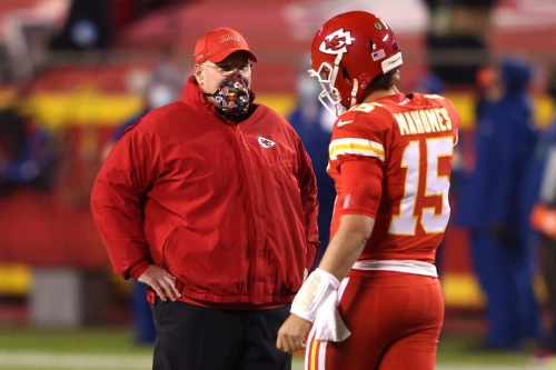 Andy Reid shares latest on Patrick Mahomes' injury vs. Browns