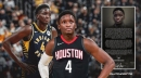 Victor Oladipo's emotional statement for Indiana after trade to Rockets