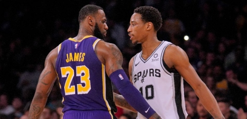 NBA Rumors: LA Lakers Could Trade Dennis Schroder And Montrezl Harrell For DeMar DeRozan