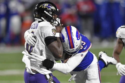 'They got loud': Bills fans changed the Ravens offense's plans in a playoff loss