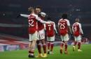 Pierre-Emerick Aubameyang hails Arsenal youngsters Emile Smith Rowe, Bukayo Saka and Gabriel Martinelli ahead of Newcastle clash