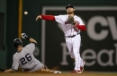 What is the Red Sox's plan at second base?