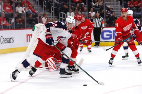 Blue Jackets look to take bite out of the pizza box