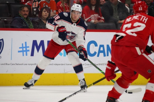 Gamethread: Blue Jackets at Red Wings